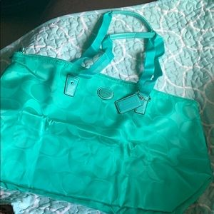 2in1 Coach Tote! New Without Tags, Never Used!